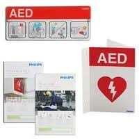 861478 Philips AED defib Signage Bundle Package