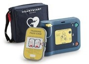 AED Defibrillator Trainers with Pads Package