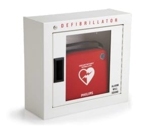 Philips Basic surface mounted aed cabinet