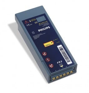 Philips FR2 M3863A AED Defibrillator Battery