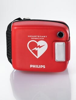 Philips heartstart frx aed case