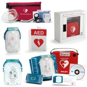 Philips HeartStart OnSite AED for Schools or business