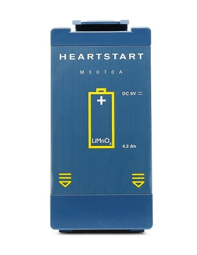 Heartstart Battery M5070A For Philips heartStart home defibrillator , FRX, Onsite, HS1 AED. M5070A for battery for M5066A, Battery for 861304 AED