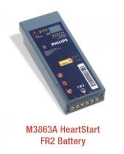 m3863a heartstart aed battery
