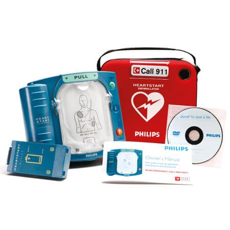 Philips Heartstart HS1 AED defibrillator for home, business,