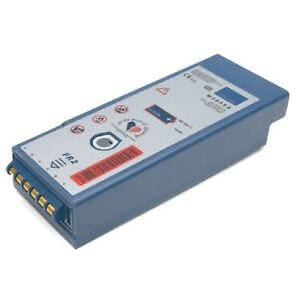 Philips M3848A FR2 rechargeable defibrillator battery