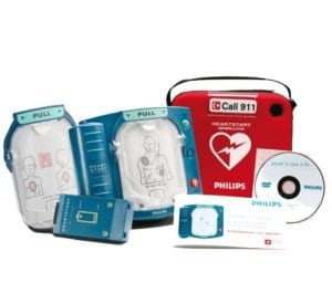 Philips Child Defibrillator Package