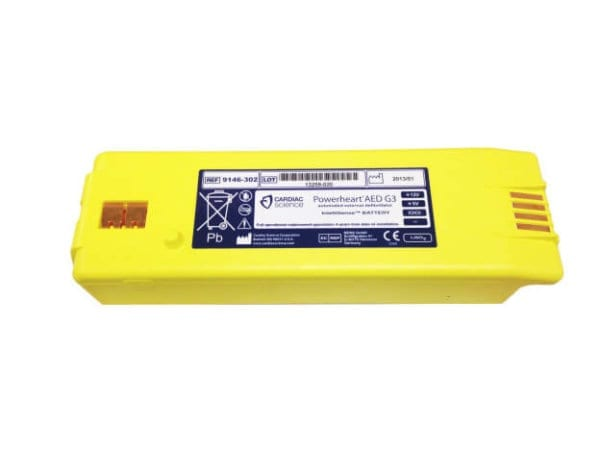 Intellisense® Battery for Powerheart® G3 AED Part No. 9146-302