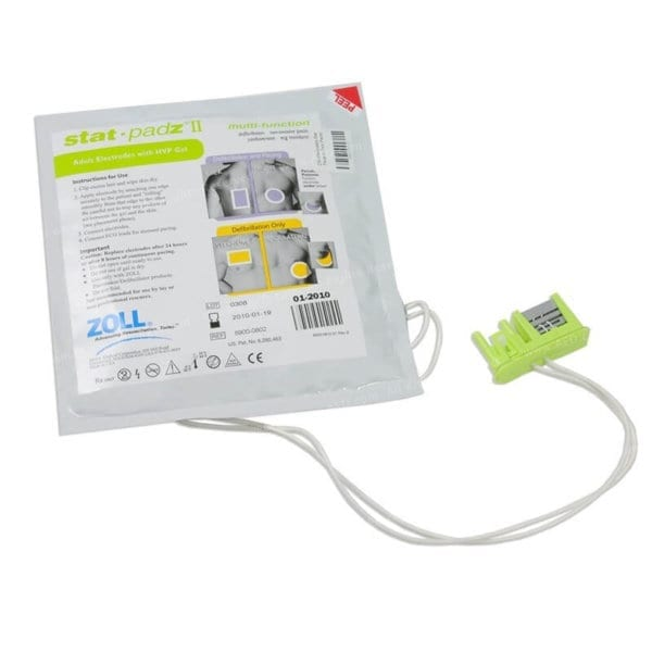 ZOLL Stat Paz II, Zoll defibrillator pads for Zoll AED plus and Zoll AED Pro