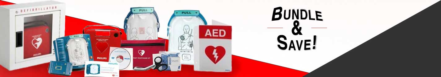 Bundle Your AED and Supplies To Save Money